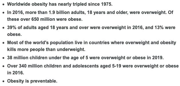 L'obesità è una malattia